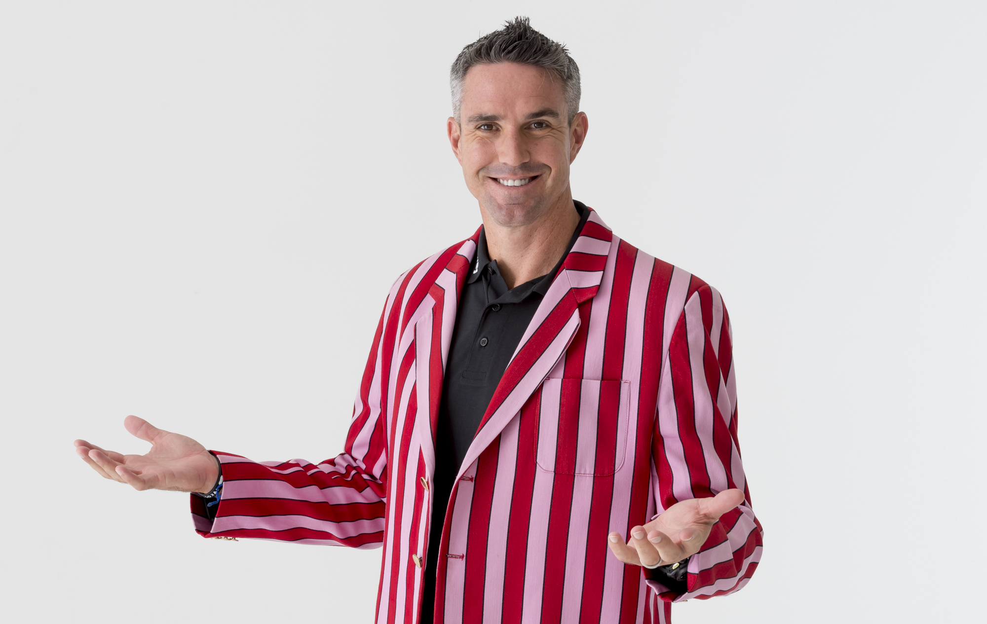 Kevin Pietersen in Vagabonds CC blazer