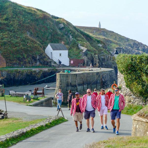 Vagabonds CC Tour: Llanrhian, Pembrokeshire, 2021